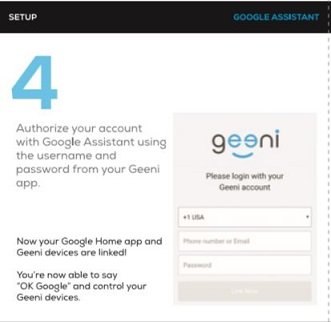 How to sync Google Assistant with Geeni app? – My Geeni