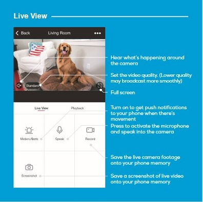 Geeni Camera live View & Play back view? – My Geeni